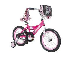 pink motocross bike amazon com secret life of pets girls dynacraft bike pink black