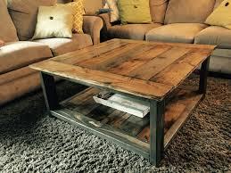 Rustic Walnut Coffee Table X Coffee Table Writehookstudio