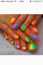 best 25 rainbow nail art designs ideas only on pinterest