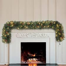kirkland patio heater kirkland signature christmas 9ft 2 7 m 90 led pre lit garland