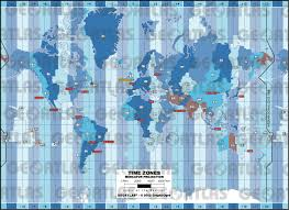 European Time Zone Map by Geoatlas World Maps Time Zone Map City Illustrator Fully