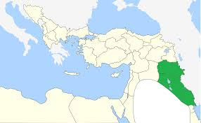 Blank Map Of Eastern Mediterranean by Kurds Ethnic Geography