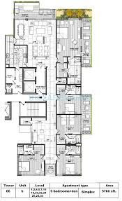 5 bhk 5760 sq ft apartment for sale in m3m golf estate at rs