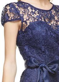 navy blue lace ribbon cap sleeve navy blue lace dress with ribbon belt hattie s