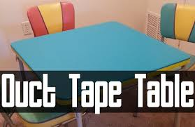 how big is a card table duct tape card table how to youtube