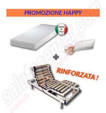 materasso elettrico happy promozione offerta rete elettrica materasso ortopedico