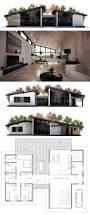 Floor Plans For One Level Homes by Best 25 Modern House Plans Ideas On Pinterest Modern House