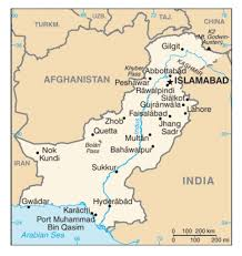 Physical Blank Map Of India by 9 3 Pakistan And Bangladesh World Regional Geography People