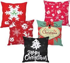 Christmas Decorations Online Flipkart by Stybuzz Cartoon Cushions Cover Buy Stybuzz Cartoon Cushions