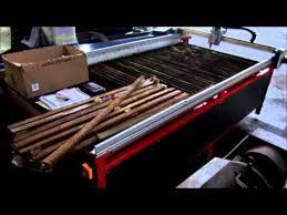 used plasma cutting table used swift cut 84 cnc plasma cutting machine for sale youtube