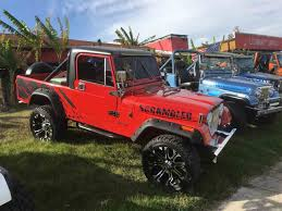2017 jeep scrambler for sale 1983 jeep cj8 scrambler for sale classiccars com cc 972177