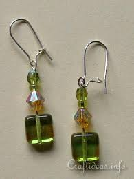 easy earrings free jewelry crafts and jewelry easy beaded earrings