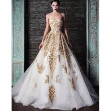 gold wedding dress gold wedding dress 2015 new bridal gowns discount price