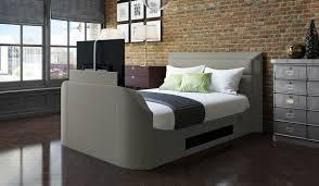 Tv Bed Frames Medford Upholstered Tv Bed Frame With 40 Led Tv Bensons For Beds
