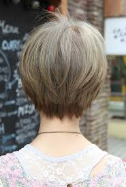 pictures of back of hair short bobs with bangs best short haircuts for straight fine hair short hairstyles 2016