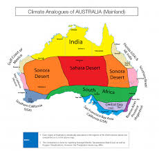 us desert map this fascinating map shows us australia s climate