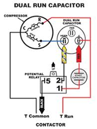 hvac for run capacitor wiring diagram air conditioner gooddy org