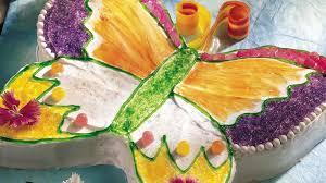 butterfly cake butterfly cut up cake recipe bettycrocker