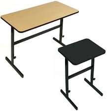 standing height folding table all adjustable standing height desks by correll options desks