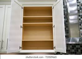 open kitchen cabinets open kitchen cabinet hd stock images