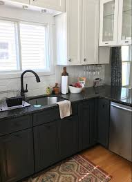 black kitchen cabinets in a small kitchen black kitchen cabinets 15 ideas useful diy projects