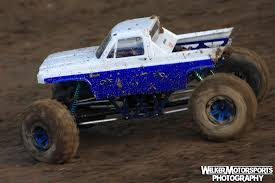 monster truck rc racing blue ground pounder u2013 mega truck trigger king rc u2013 radio