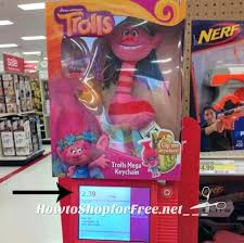 target black friday deals trolls 2 39 trolls keychain how to shop for free with kathy spencer