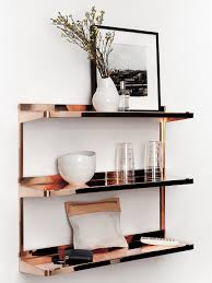 Copper Accessories For Kitchen Our 4 Favorite Ways To Decorate With Copper Copper Shelf Copper