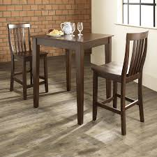 mahogany dining room set shop crosley furniture vintage mahogany 3 piece dining set with