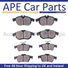 honda civic type r fn2 2007 2012 front and rear brake pads set new