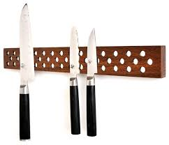 kitchen knives storage magnetic wooden knife bar holder transitional knife
