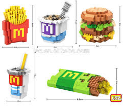 loz diamond blocks loz diamond block brick fast food set meal sushi set meal