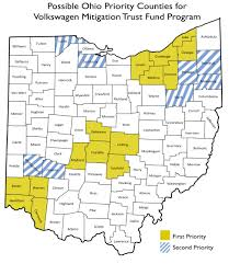 Map Of Northwest Ohio by Ohio Epa News Releases Ohio Epa Requests Public Input On Volksw