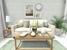 Green Walls Living Room Decor Ideas For Decorating With Walls - Wallpaper living room ideas for decorating