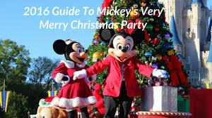 2016 guide mickey u0027s merry christmas party