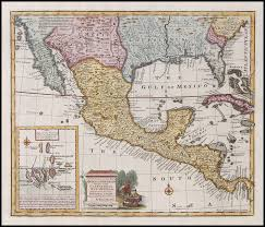 me a map of mexico a accurate map of mexico or spain together with