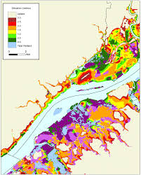 Pennsylvania Maps by More Sea Level Rise Maps For Pennsylvania