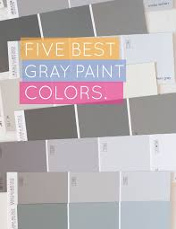 Best Paint Colors Gray The Perfect Gray Images On - Best blue gray paint color for bedroom