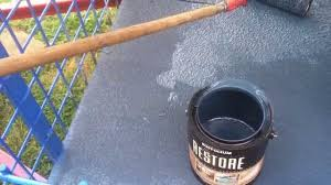 trailer deck paint with rustoleum deck restore paint stain youtube