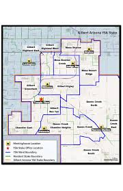 Mesa College Map Arizona Lds Single Ysa And Wards