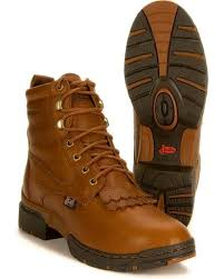 womens boots george justin s george strait 3 1 waterproof lacer boots sheplers