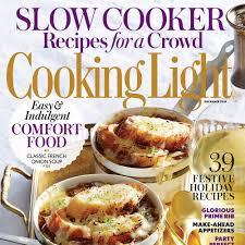 december 2015 magazine features cooking light
