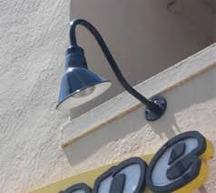 gooseneck light fixtures for signs sign and business lighting s blog for architectural lighting and
