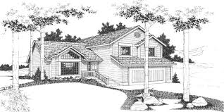 split entry house plans split level house plans 3 bedroom house plans 2 car garage hous