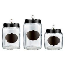 Kitchen Canisters Function And Beauty - stainless steel 4pc canister set with lid silver threshold target