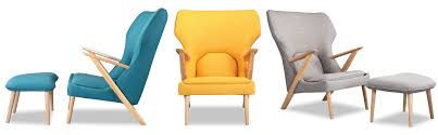 modern chair with ottoman chairs lounge chairs cub chair ottoman kardiel