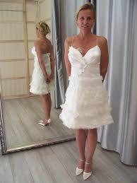 robe de mariã e mairie robe de mairie courte sur mesure pour en satin de soie et