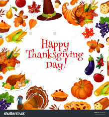 happy thanksgiving day greeting card banner stock vector 500186839