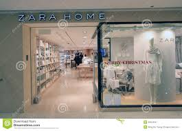zara home shop in hong kong editorial photography image 36624547