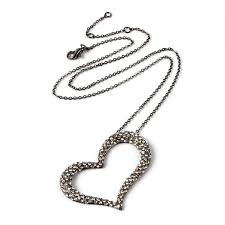 metal heart necklace images Lovely heart necklace shop amrita singh jewelry